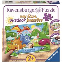 Ravensburger - My First Outdoor Puzzles: Dinosaurier Freunde, 12 Teile
