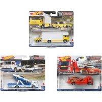 Hot Wheels - Premium Car Team Transport, sortiert