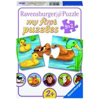 Ravensburger - Puzzle: Liebenswerte Tiere, 9x2 Teile