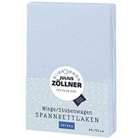 Zöllner - Spannbetttuch Jersey hellblau (90x40)