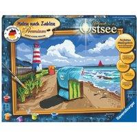 Ravensburger - Malen nach Zahlen Premium: Urlaub an der Ostsee