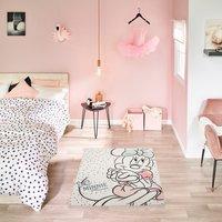 Minnie Mouse - Teppich Punkte 95x133cm