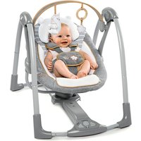 Ingenuity - Portable Babyschaukel, Boutique Collection