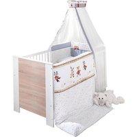 Jedynak - Komplettbett Kinderbett Tobi 2, 7 Teile, 70x140