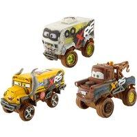Disney Cars - Big Racing Serie Schlammrennen, sortiert