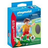 PLAYMOBIL - 70157 Fußballspieler mit Torwand