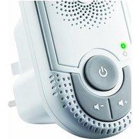 MOTOROLA MBP8 DIGITAL AUDIO W/NIGHT LIGHT - Babyphone (Weiss) (10N8028)