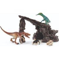 SCHLEICH Dinosaure, Dino-Set avec Cave