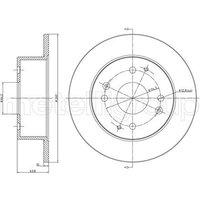 Bremsscheibe Hinterachse Metelli 23-0578