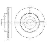 Bremsscheibe Vorderachse Metelli 23-0923C
