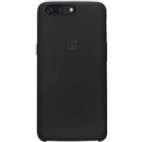 OnePlus 5 Silicone Protective Case (Black)