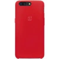 OnePlus 5 Silicone Protective Case (Red)