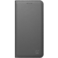 OnePlus 5 Flip Cover (Gray)