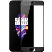 OnePlus 5 3D Tempered Glass Screen Protector (Black)