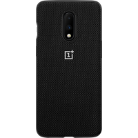 OnePlus 7 Nylon Bumper Case (Black)