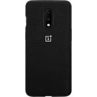 OnePlus 7 Nylon Bumper Case (Black)