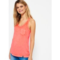Superdry Burnout Pocket Vest Top