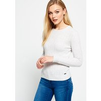Superdry Luxe Mini Cable Knitted Jumper