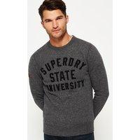 Superdry Applique Crew Neck Sweatshirt
