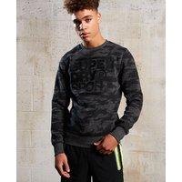 Superdry Gym Tech Crew Neck Sweatshirt