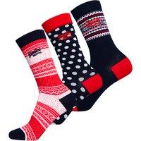 Superdry Festive Socks Triple Pack