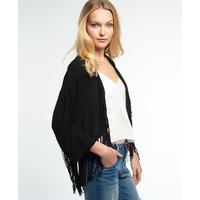 Superdry Lacy Fringed Kimono Top