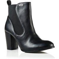 Superdry Fleur Leather Chelsea Boots