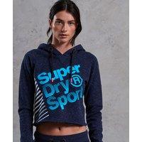 Superdry Sport Label Diagonal Hoodie