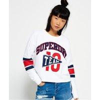 Superdry Semester Cropped Crew Neck Sweatshirt