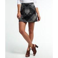 Superdry North Check Mini Skirt