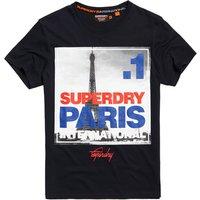 Superdry Box Photo City Paris T-Shirt