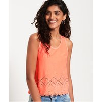 Superdry Pacific Broderie Tank Top