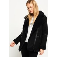 Superdry Ophelia Wool Aviator Jacket