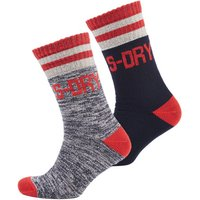 Superdry Downhill Racer Sock Double Pack