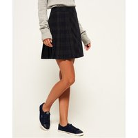 Superdry Josie Pleated Tweed Skirt