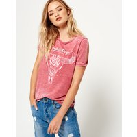 Superdry Midwest Cut Sleeve T-shirt