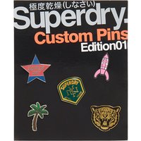Superdry Custom Pin Badge Pack