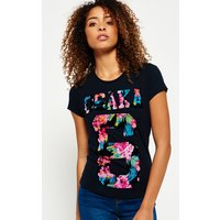 Superdry Osaka Tropical Flock T-shirt