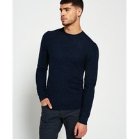 Superdry Premium Textured Knit Crew Jumper