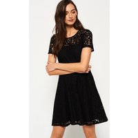 Superdry Lace Fit & Flare Dress
