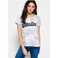 Superdry Vintage Logo Hawaiian Boyfriend T-shirt