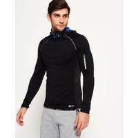 Superdry Sports Athletic Half Zip Hoodie
