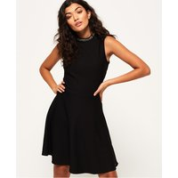 Superdry Fit and Flare Jewel Textured Dress