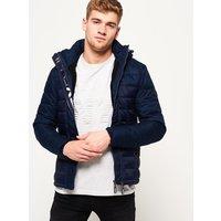 Superdry Fuji Mix Double-Zip Hooded Jacket