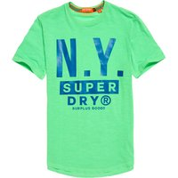 Superdry Surplus Goods Longline Graphic T-Shirt