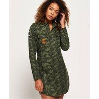 Superdry Military Amber Shirt Dress