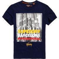 Superdry Box Photo City Barcelona T-shirt