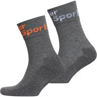Superdry Dry Mid Sock Double Pack