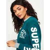 Superdry Sleeve Logo Crew Sweat