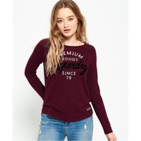 Superdry Punk Rock Long Sleeve Top